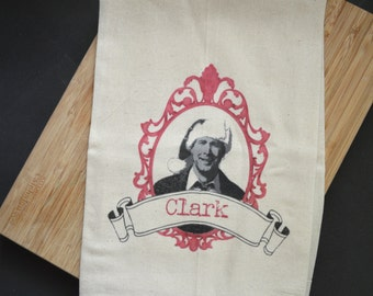 Clark Griswold Flour Sack Tea Towel