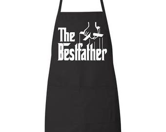 The Best Fathers father's day apron