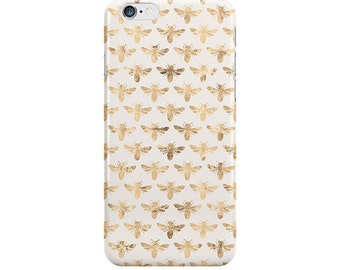 Bee iPhone Case, iPhone 6, iPhone 6 Plus, iPhone 5/5s, Bee Samsung Galaxy, Bee Pattern, NewSerenityStudio