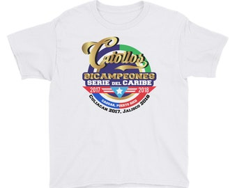 Puerto Rico Bicampeones de Baseball Youth Short Sleeve T-Shirt