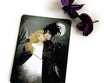 Edward Scissorhands - Postcard