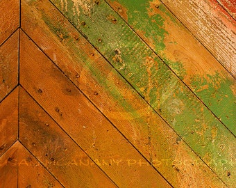 Diagonal Wood Planks, Photoshop Overlay, Peeling Paint Wood, Texture Overlay, Tan, Green, Brown, Clipart, Distressed Wood, Texure Photo