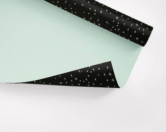5x Wrapping Paper / Sternenhimmel