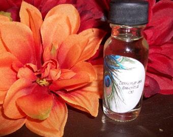 Lemongrass Essential Oil 1/2 oz Bottle