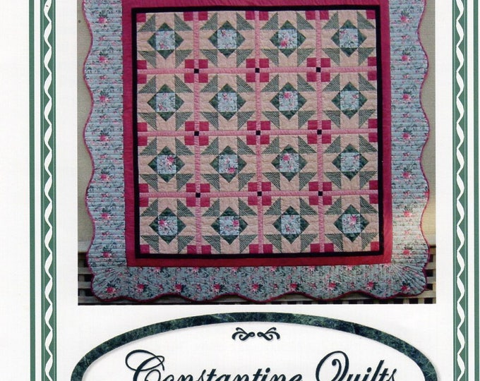 Free Usa Shipping Quilt Craft Sewing Pattern Constantine Quilts of Australia Old World Roses 2001 05