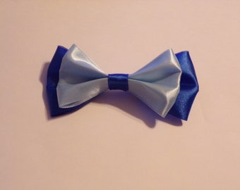 "Make It Blue - Sleeping Beauty Inspired Hair Bow - Medium 4 3/4"""