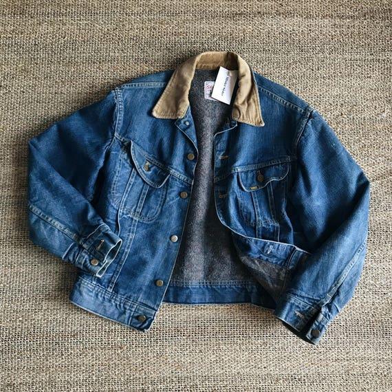 LEE balnket lined denim jacket