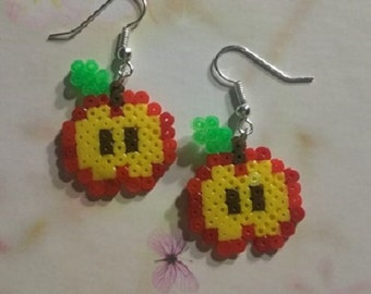 Ma Petite Apple earrings
