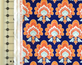 The Quilted Fish damask Fabric by the Yard c3773