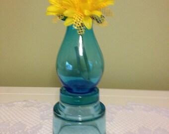 Blue Fancy vase - One of a Kind