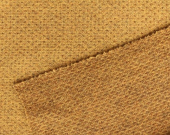 14KT Gold (Reversible), Felted Wool Fabric for Rug Hooking, Wool Applique and Crafts