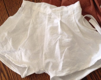 Vintage 1940's Baby Panties Bloomers Size 6mo