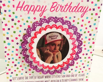 Girls HBO birthday card