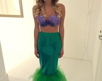 Adult Mermaid Tail Skirt