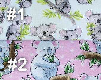 "Koala Bear Extra Large Receiving Blanket - 36"" x 42"""