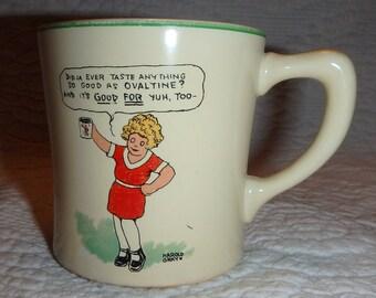 Orphan Annie Ovaltine Mug