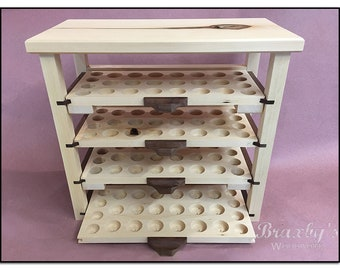 Essential Oil Storage, Organizing Display Rack- Pull Out Shelf