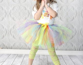 Multi-colored Springtime Tutu