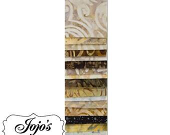 Batavian Jewels Strip Pack - Taupe by Wilmington Prints SKU Q801-3-801