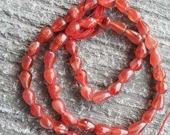 Carnelian beads...carnelian Stone...Orange Color Carnelian Beads...