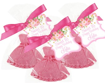 Sweet 16 Soap Favor -  - Dress Favors Come In Your Very Own Choice Of Colors