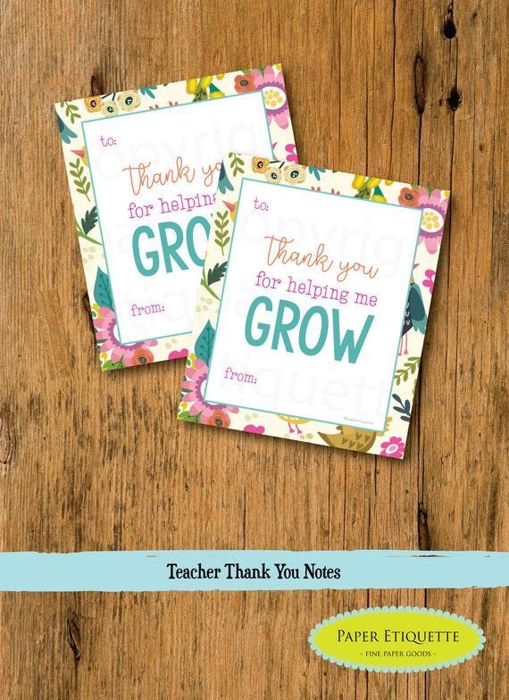 teacher appreciation cards teacher gift end of year teacher