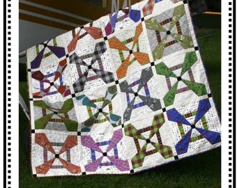 Propellers Quilt Pattern by Whirligig Designs