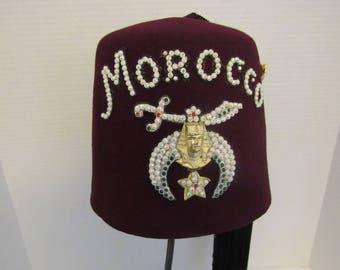 Masonic Shriners Jeweled Fez