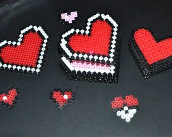 Beaded Heart Gift Box
