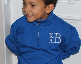 Child/ Youth Quarter Zip---Just in time for Fall!