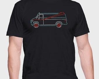 A-Team Van – A-Team T-Shirt -  A-Team Shirt -  A-Team Tee – ATeam  T-Shirt – ATeam Shirt – ATeam Tee - T-Shirt for truckers