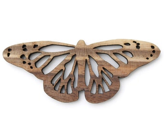Monarch Butterfly Ornament - Made in the USA with sustainably harvested wood! - Timber Green Woods.