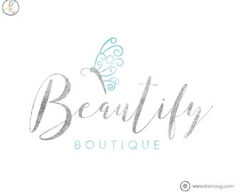 Butterfly Logo Photography Logo Boutique Logo Premade Logo Watermark Logo Business Logo Branding Logo Custom Logo Logos and Watermarks