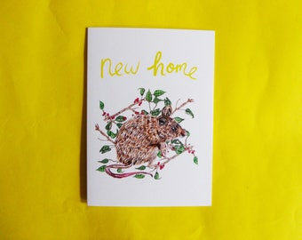New Home A6 Greeting Card