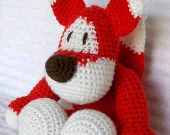 Crochet Fox Stuffed Animal, Crochet Animal, Fox Plush, Stuffed Fox, Crochet Fox Animal, Stuffed Animal, Forest Nursery, Fox Stuffed Animal