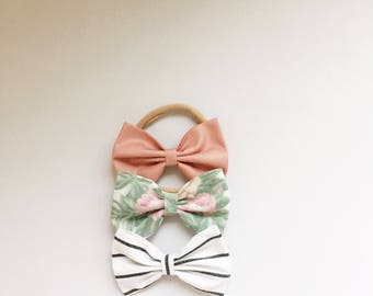Summer Bow Headband Set for your little darling.