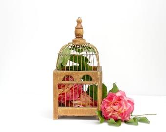 Wood And Metal Birdcage, Wedding Decor