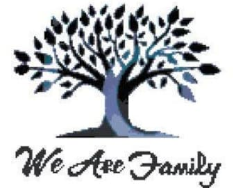 We Are Family 2 Cross Stitch Chart