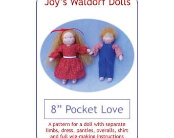 "8"" Pocket Love Pattern - Joy's Waldorf Dolls"