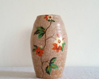 1940s Ballina Brentleigh Ceramic Vase, Brentleigh Ware Pottery Vintage Vase, Ballina England, Studio Art Pottery Vase, 40s Ceramics