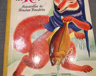 "Book ""The romance of Fox"" Casterman - 1958 Edition!"