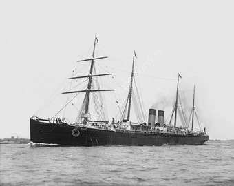 SS Britannic I Steamship White Star Line Giclee photo print photography fine art