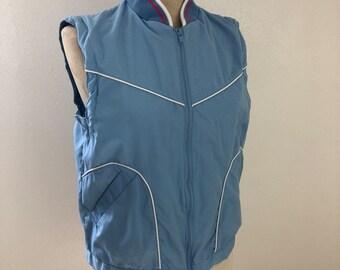 Vintage 70's retro vest Women's Medium