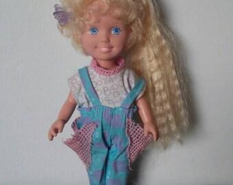 Vintage Playskool Dolly Surprise 1987 WORKING
