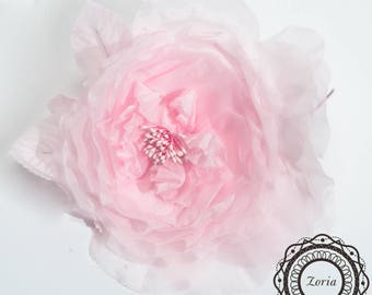 Blooming Rose Flower Artificial Flower For Millinery, Flower Crown, Wedding, Hair Accessories | 802037