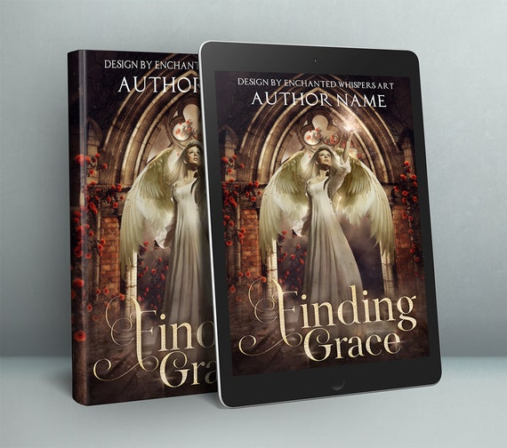 fantasy Angel premade cover design for ebook or paperback