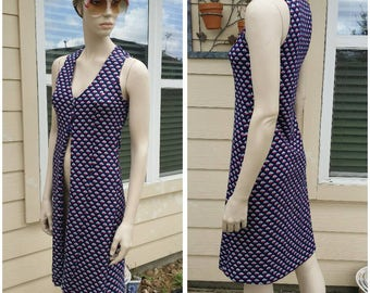 Vintage 70s Handmade long vest