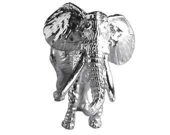 African Elephant Sterling Silver Bracelet Charm Solid .925 Africa Safari Animal
