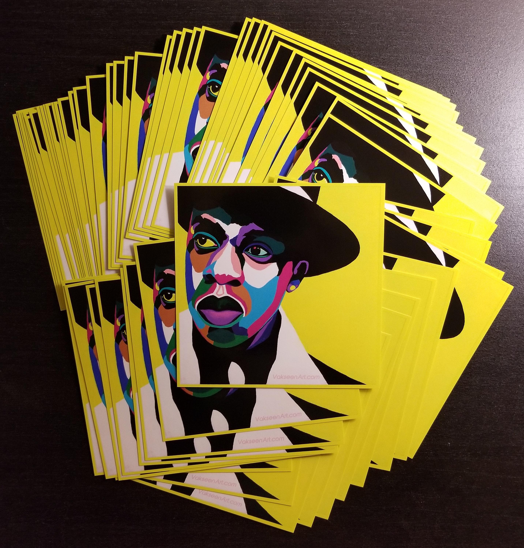 Brooklyn Vakseen Jay Z Celebrity Pop Art Hip Hop Art