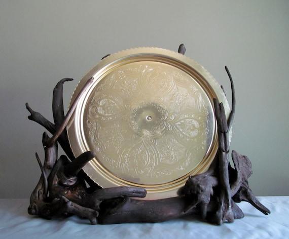 & Driftwood Sculptural Plate Display Decorative Plate Holder